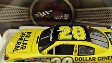 2013 BRIAN VICKERS ACTION LIONEL #20 FORD DOLLAR GENERAL 1:24 NASCAR DIE-CAST
