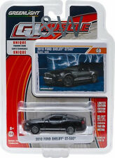 Greenlight Shelby Gt500 2010 Black with White stripe 1/64 13160