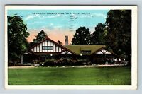 La Fayette IN, La Fayette Country Club, Indiana, Vintage Postcard Z60
