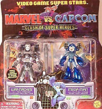 Video Game Superstars Marvel vs Capcom Iron Man War Machine vs Mega Man New MIP