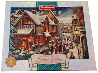 Waddingtons NIGHT BEFORE CHRISTMAS 1000 Pc Limited Edition Jigsaw Puzzle Coin