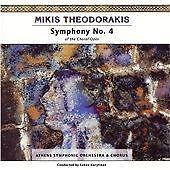 Mikis Theodorakis: Symphony No. 4, Lukas Karytinos CD   0750447313620   New