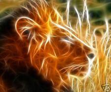 tapis de souris lion personnalisé prénom texte au choix réf 79