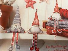(X5) Scandi Gnome Decorations Christmas Cross Stitch Chart