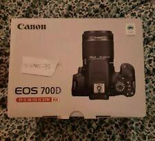 Canon EOS 700D Fotocamera Digitale Reflex Kit con EF-S 18-55 mm IS STM - Nuova