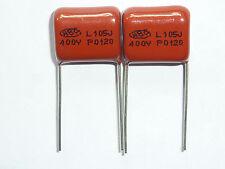 10PCS CBB21 105J 400V 1UF 1000NF P15 Metallized Film Capacitor