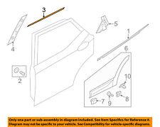 HYUNDAI OEM 13-18 Santa Fe Exterior-Rear-Window Molding Left 83850B8000