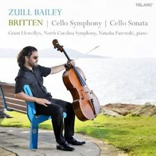 Zuill Bailey, Sankt - Britten: Cello Symphony / Cello Sonata [New CD]