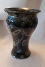 Elli Pearson Orkney Studio Jarrón de cerámica totalmente marcado en la base 21cm De Alto