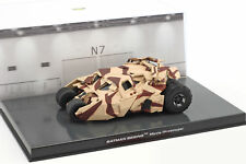 Batman Tumbler Animationsfilm Batman Begins (2005) camouflage 1:43 Altaya