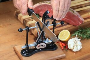 RECONDITIONED V-Sharp Classic II Diamond Knife Sharpener by Warthog - BLACK