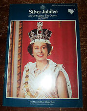 OFFICIAL SOUVENIR PROGRAMME FOR THE 1977 SILVER JUBILEE OF HER MAJESTY THE QUEEN