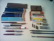 Vintage Writing & Desk Accessories 43 Various Items, As Is