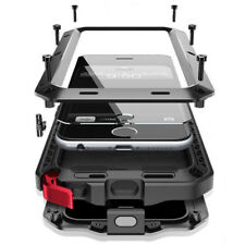 Metal Heavy Duty Rugged Builder Shockproof Military Case Cover for Apple iPhone