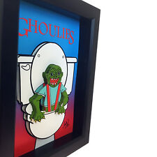 Ghoulies Movie Poster 3D Art Horror Decor Funny Bathroom Sign Toilet Artwork