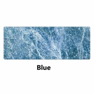 Mouse Pad Marble Pattern Large Office Home Computer Laptop Keyboard Rubber Mat