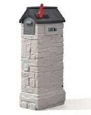 Decorative Mailbox With High Capacity Lock Area Residential Mail Postal Delivery