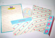 POPS CLUB 80s Kutsuwa Japan RARE stationery letter set - carta da lettere misb