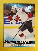 2019-20 Upper Deck Young Guns #205 Nathan Bastian New Jersey Devils Rookie