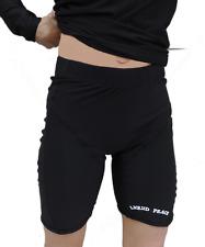 Women's Thermal Compression Rash Guard Shorts-Lightweight Warmth, Size: Medium