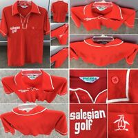 Vintage Salesian Golf Polo Shirt Grand Slam Munsingwear Made In USA M