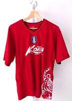 Korea Football Team KFA National Soccer Jersey Shirt Football Red Adult 100 M L