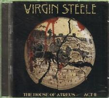 Virgin Steele(CD Album)House Of Atreus Act 2-New