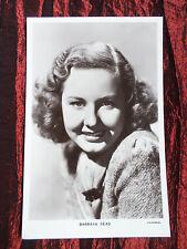 BARBARA READ  - FILM STAR VINTAGE PICTUREGOER POST CARD - #1141