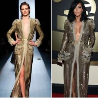 Beaded Kaden Duster, Dress M As Seen On Kim Kardashian