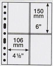 100x Veloflex A6 Sichttasche Sichthülle zum Aufhängen glasklar aus PP 3306000
