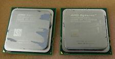 LOT OF 2 AMD OPTERON OS8358YAL4BGH QUAD CORE CPU 8358 SE 2.40GHz - FREE SHIP!