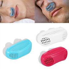 Silicone Anti Snore Nasal Dilators Apnea Aid Device Stop Snoring Nose Clip White