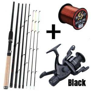 Power Strong Trolling Rod and Carp Reel with With Accessories Carrier Bag