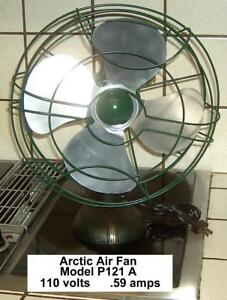 Arctic Air Fan Model P 121 A
