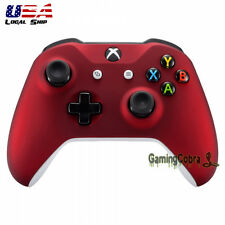 Soft Touch Red Front Housing Shell for Microsoft Xbox One S Wireless Controller