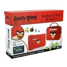MERONCOURT Kurio 7 Angry Birds Protective Skin Bumper and Travel Bag Accessory P