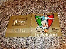 ALBUM I CALCIATORI 1964 1965 FERRERO ORIGINALE CON 15 FIGURINE OTTIM TIPO PANINI
