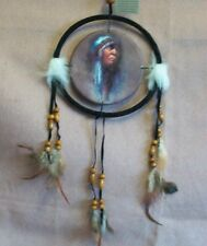 16cm dreamcatcher indian chief.