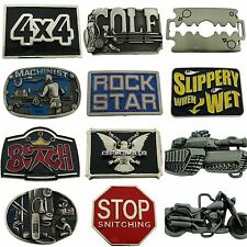 12 Pcs Wholesale Belt Buckle Vintage Silver Metal Fashion Las Vegas Usa Western