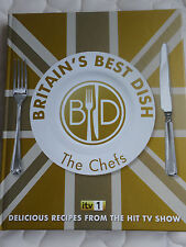 """BRITAIN'S BEST DISH. THE CHEFS""  BR NEW COOK BOOK"