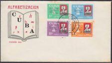 1962-FDC-87 ANTILLES. FDC 1962. CAMPAÑA ALFABETIZACION. LITERACY CAMPAING.