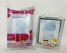 SPI-Pore Polycarbonate Filter Membranes 100-pack 25mm, .4UM - New in Sealed Bag