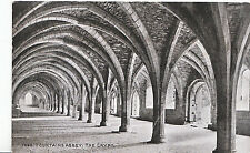 Yorkshire Postcard - Fountains Abbey - The Crypt       ZZ3459