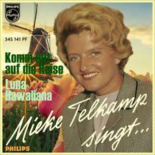 "7"" Mieke telkamp vieni con su il viaggio Jos Cleber the golden circle Song D 1959"