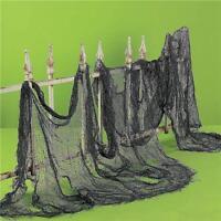 Hotsale Halloween Creepy Gauze Door House Decor Gothic Party Props Decor S