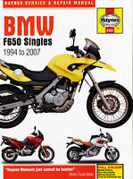 BMW F650 F650GS Dakar Funduro Strada Haynes Manual 4761