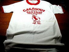 CIVITELLA  CASANOVA  PIZZERIA ROCHESTER  N.Y. T-SHIRT VINT. USA  EXCELLENT