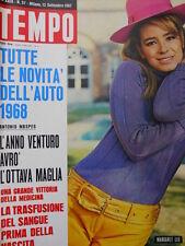 TEMPO n°37 1967 Tutte le novità AUTO 1969  [C55]