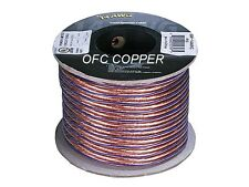Audiophile Grade 100ft 14AWG Oxygen Free Copper OFC Loud Speaker Wire Cable