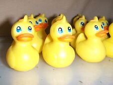 12 Toy Yellow Rubber Duck Baby Shower Party Favors